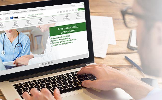 SAT renueva su portal para facilitar trámites